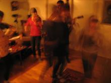 nattens engelskor i vardagsrummet