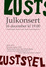 Julkonsert Lustspel